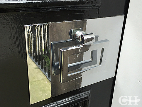 front door accessoriesFront Door Furniture Front Door Painted In Calke Green No 34