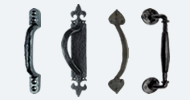 Modern & Traditional Black Pull Handles