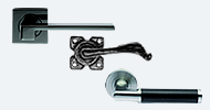 Modern & Traditional Black Handles On Rose