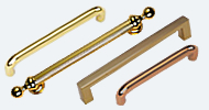 Brass and Bronze Pull Handles