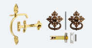 Brass and Bronze Thumb Latches