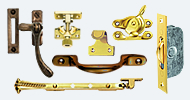Window Hardware Brass & Bronze