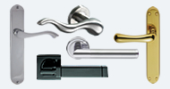 Contemporary Door Lever Handles