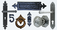 Front Door Furniture Gothic