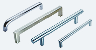 Stainless Steel & Chrome Pull Handles