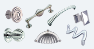 Stainless Steel Nickel & Chrome Cupboard Knobs