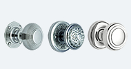 Stainless Steel & Chrome Mortice Door Knobs