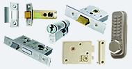 Door Locks & Latches Stainless Nickel Chrome
