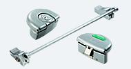 Panic Hardware Silver & Stainless