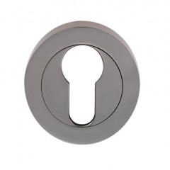 euro profile lock escutcheon polishedchrome