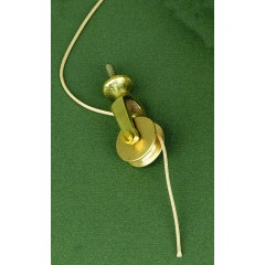 extension pulley brass