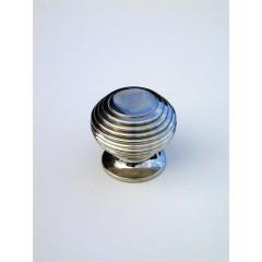 small beehive cupboard knob brass