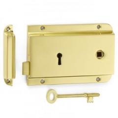 Croft Flanged Rim Lock