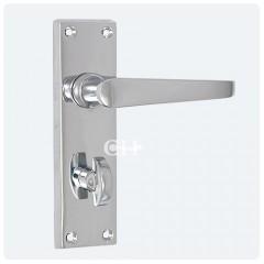 victorian bathroom lock handles