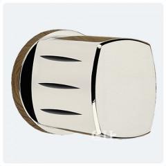 contemporary polished nickel door knobs