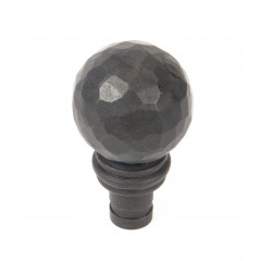 From The Anvil Beeswax Black Pull Handle Finials