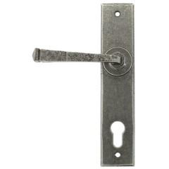 Avon Pewter Espagnolette Multipoint Lever Door Handles