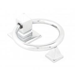 Polished Chrome Ring Door Knocker