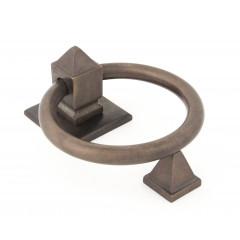 Aged Bronze Ring Door Knocker