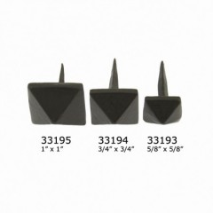 From The Anvil Black Antique Door Stud