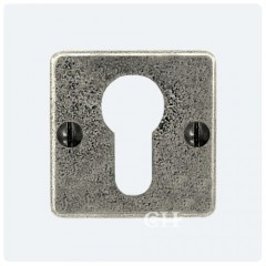 Finesse Design Square Pewter Euro Escutcheons