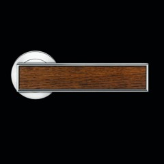Karcher Torino Polished Chrome Lever Handles With Various Inlays