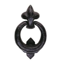 black antique ring door knocker