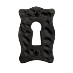 Louis Fraser Small Keyhole Escutcheon In Black or Pewter.