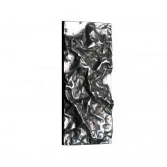 Philip Watts Small Crushed Push Plate Aluminium Brass Or Bronze