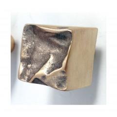 Philip Watts Crushed 30mm Cabinet Knobs Aluminium Brass Or Bronze