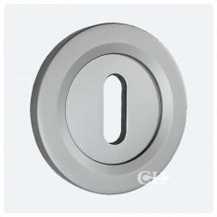Keyhole Satin Chrome