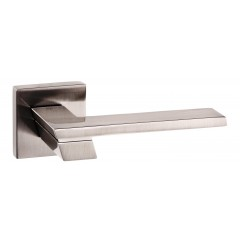 satin nickel lever door handles