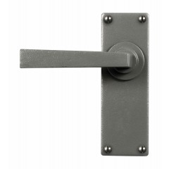 Stonebridge Arundel Hand Forged Steel Levers On Latch Backplate