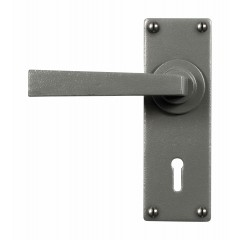 Stonebridge Arundel Hand Forged Steel Levers On Keyhole Backplate