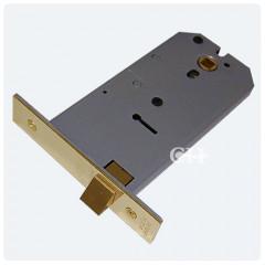 union horizontal latch polished brass