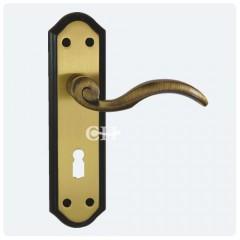 wentworth keyhole lock levers florentine bronze