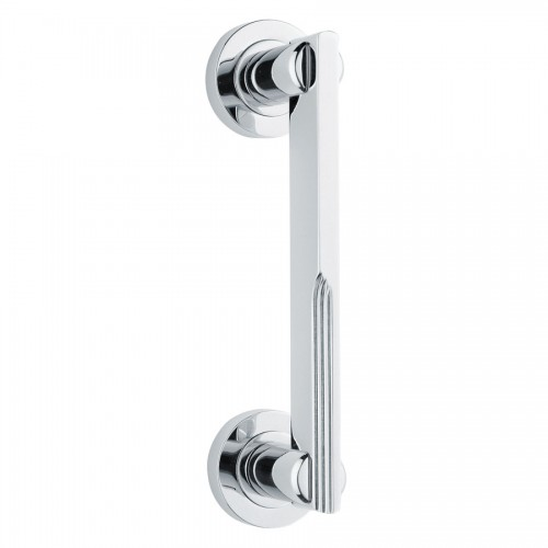 Veronica Art Deco Chrome Pull Handle From Cheshire