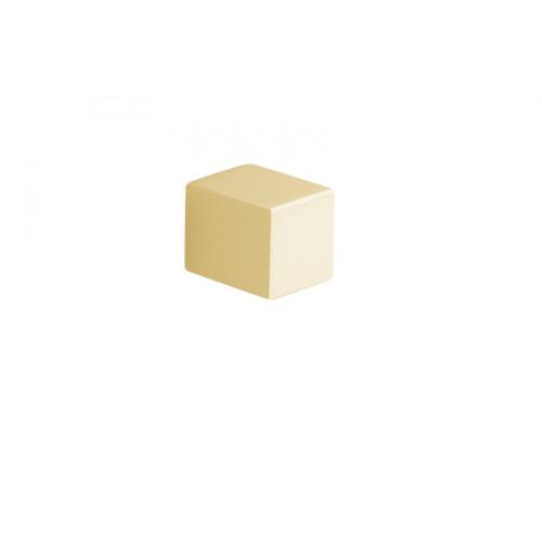 Satin Brass Square Cupboard Door Knobs