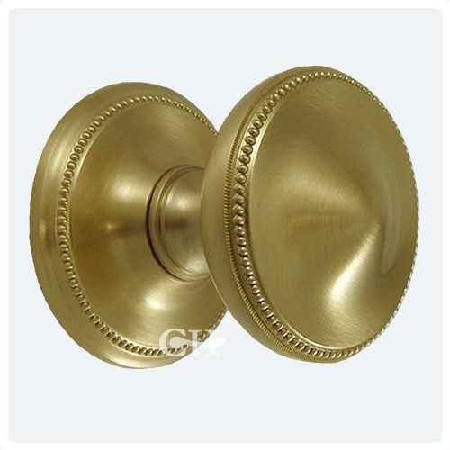 Brassart 900 Princess Beaded Centre Door Knobs Brass Bronze