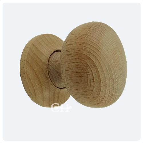 Caledonia Wooden Mortice Or Rim Door Knobs In Oak Walnut Mahogany