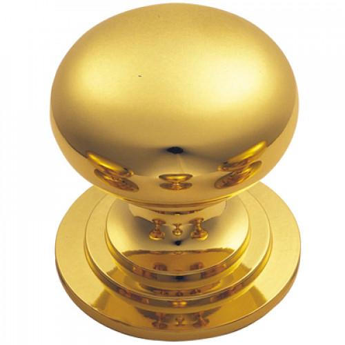 Carlisle Brass M47 Polished Brass Cupboard Knob | Door handles ...