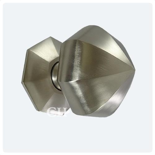 Croft 1751 Octagonal Centre Door Knob Pull Handle in Chrome Nickel ...