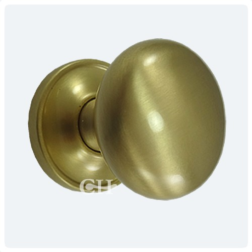 Croft 1757COV Cushion Door Knobs Concealed Rose Brass Bronze