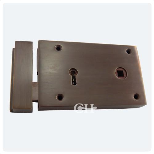 Croft 1871 Brass Bronze Chrome Or Nickel 2 Lever Rim Locks