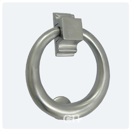 Croft 1893 Ring Door Knocker In Chrome Nickel Brass Or