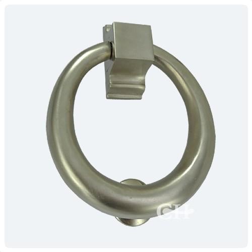 Croft 1893 ring door knocker in chrome nickel brass or - Door knocker nickel ...