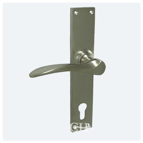 Perfect Satin Nickel 92mm Multipoint Door Handles