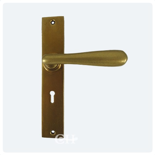 Superior Aged Brass Bolt Fix Inside Handle ...