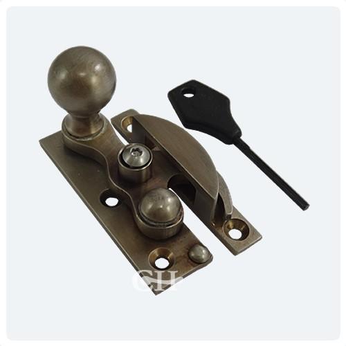 Croft 3466 3466l Sash Window Fastener In Brass Bronze
