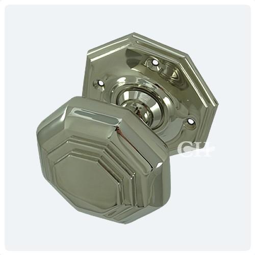 Croft 4180 Flat Octagonal Door Knobs in Chrome Nickel Brass or ...